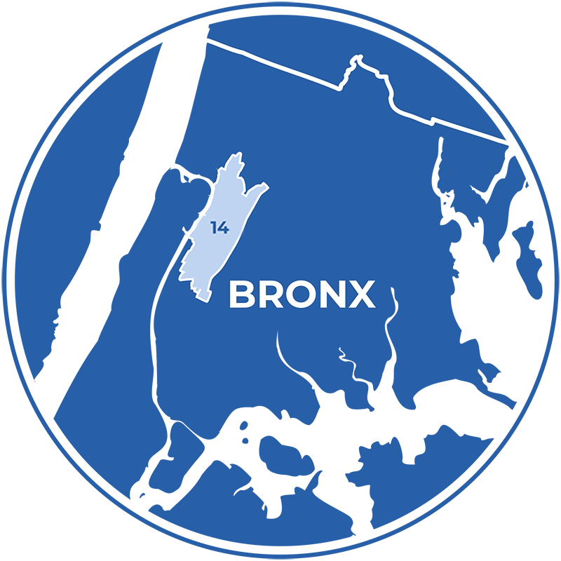 Pierina fights for the Bronx